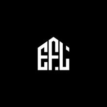 EFL Letter Logo Design On Black Background. EFL Creative Initials Letter Logo Concept. EFL Letter Design.