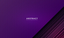Abstract Purple Line Background, Modern Landing Page Concept, Vector.