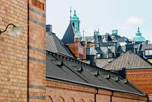 Exterior Of The Royal Stables (Kungliga Hovstallet) In Stockholm
