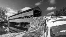 Saks Covered Bridge In Gettysburg, Pennsylvania
