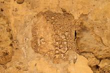 Erode And Weatheres Old Whitewash, Mdina, Malta