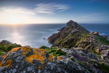 Beautiful Photograph Of The Sea From The Mountainous Coast