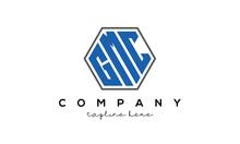 Letters GMC Creative Polygon Logo Victor Template