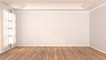 Empty Room Wood Design