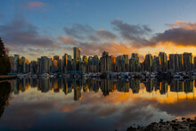 Vancouver, Canada. Third-largest Metropolitan Area In Canada.