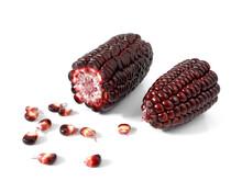 Purple Corn Or Purple Maize