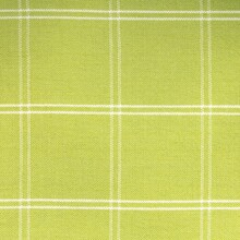 Lime Green Checked Curtain Fabric Texture