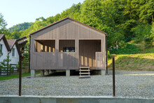 New Cottage Built At The Foot Of The Mountain.