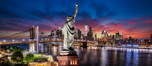 Statue Of Liberty Manhattan New York