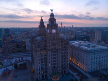 Liverpool In The Sunrise
