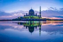 Putra Mosque In Kuala Lumpur