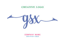 GSX Lettering Logo Is Simple, Easy To Understand And Authoritative