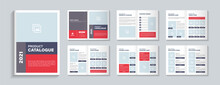 Product Catalog Design Template Layout