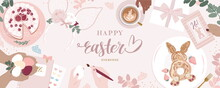 Cute Happy Easter Day