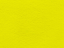 Seamless Texture Of Yellow Cement Wall A Rough Surface, With Space For Text, For A Background.