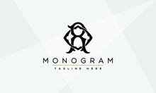 Alphabet Letters Initials Monogram Logo RO, OR