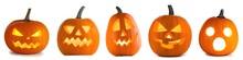 Halloween Pumpkin Funny Faces