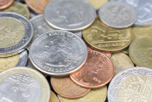 Coins, Currency All Over The World