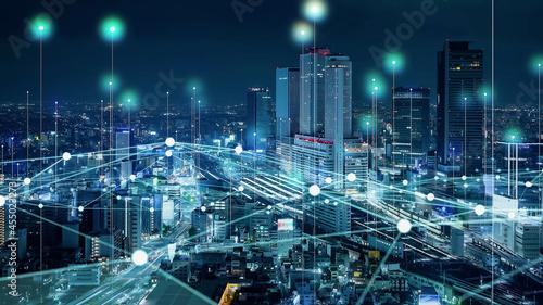 Fotografie, Obraz 都市と位置情報技術