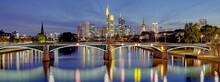 Skyline Frankfurt Beleuchtet