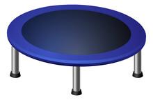 Round Cartoon Trampoline