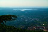 krajobraz natura drzewa rośliny góry zieleń woda