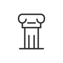 Premium History Line Icon For App, Web And UI.