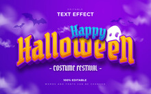 Happy Halloween And Scary Editable Text Effects Style