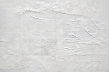 Blank White Torn Paper Poster Texture Background