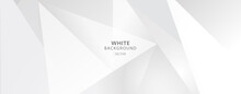 White Grey Background Vector Abstract Graphic Design Banner Pattern Background Template