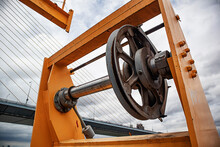 Rear Tower Crane Sling Pulley