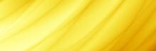 Sunset Yellow Abstract Header Wallpaper Design