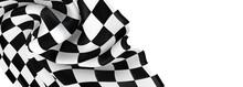 Flag Finish Race Sport 3d Champion Winner