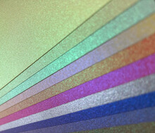 Shimmer Duochrome Holographic Coloured Diagonal Stripes Bpkeh Background