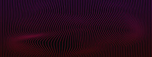 Abstract Background Wave Effect Of Red And Pink Lines