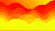 Yellow Wave Vector Gradation Abstract Background