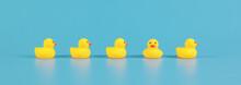 Yellow Rubber Bath Ducks For Child