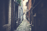 Fototapeta Uliczki - narrow street in the old town