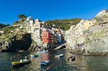 Italy. Liguria. Cinque Terre. The Village Of Riomaggiore