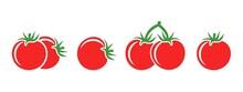 Tomato Logo. Isolated Tomato On White Background