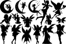 Fairy SVG Cut Files | Fairy Silhouette | Tooth Fairy Svg | Fairies Svg | Disney Svg | Fairy Bundle
