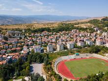 Aerial View Of Town Of Sandanski, Bulgaria