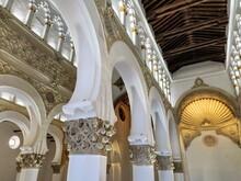 Santa Maria La Blanca Ibn Shushan Synagogue, Toledo, Spain