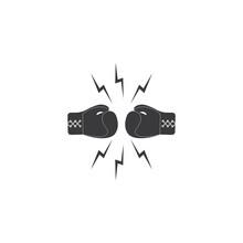 Boxing Gloves Logo