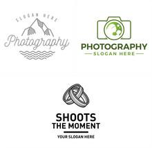 Photography Photo Studio Scenery Marriage Logo Design