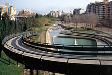 Palma De Mallorca, Parc De Ses Estacions 2005 Vor Der Umgestaltung