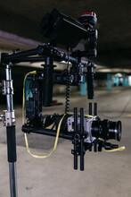 Video Camera Rig Set On Gimbal
