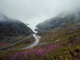 Mystica mountain pass road.