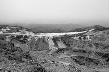Black And White Apocalyptic Landscape