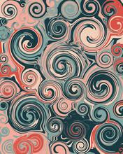 Retro Inspired Psychedelic Illustration